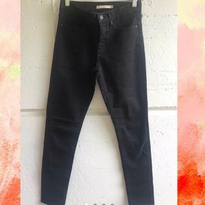 Black Levis denim
